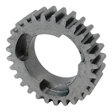 28 Tooth 20 DP 0.875 in. Round Bore Steel Dog Pattern Gear