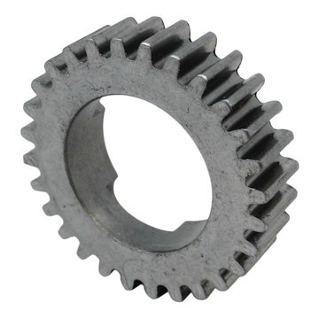 View larger image of 28 Tooth 20 DP 0.875 in. Round Bore Steel Dog Pattern Gear