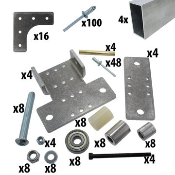 View larger image of 2x1 Single Stage HD Elevator Bearing and Structure Kit