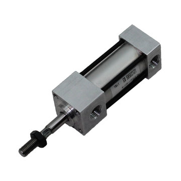View larger image of 3/4 in. Bore, 1/2 in. Stroke Spring Extended Face Mount Pneumatic Cylinder