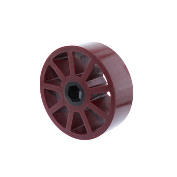 View larger image of 3 in. Compliant Wheel, 1/2 in. Hex Bore, 45A Durometer