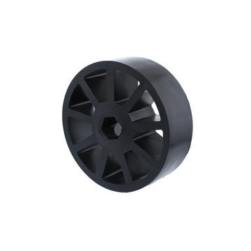 View larger image of 3 in. Compliant Wheel, 1/2 in. Hex Bore, 60A Durometer