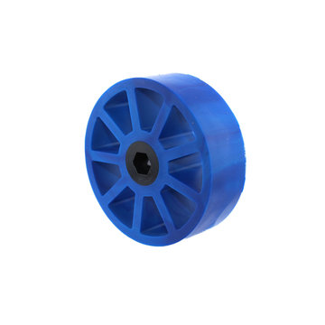 View larger image of 3 in. Compliant Wheel, 3/8 in. Hex Bore, 50A Durometer