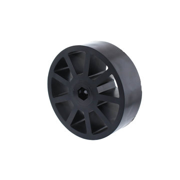 View larger image of 3 in. Compliant Wheel, 3/8 in. Hex Bore, 60A Durometer
