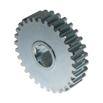 View larger image of 30 Tooth 16 DP 0.5 in. Hex Bore Steel Gear
