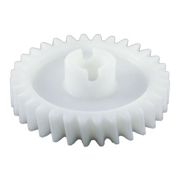 View larger image of 32 Tooth 14.5 PA 0.5 in. Round Bore Plastic Driven Worm Gear for Worm Gearbox