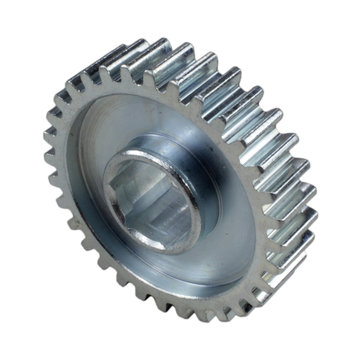 View larger image of 32 Tooth 20 DP 0.5 in. Hex Bore Steel Gear with Pocketing