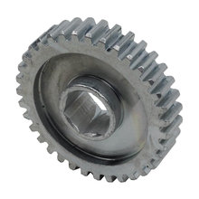 35 Tooth 20 DP 0.5 in. Hex Bore Steel Gear with Pocketing