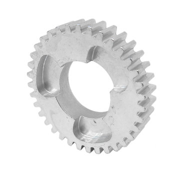 View larger image of 35 Tooth 20 DP 0.875 in. Round Bore Steel Dog Pattern Gear