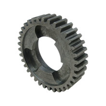 35 Tooth 20 DP 1.125 in. Round Bore Steel Dog Pattern Gear for Rocketbox