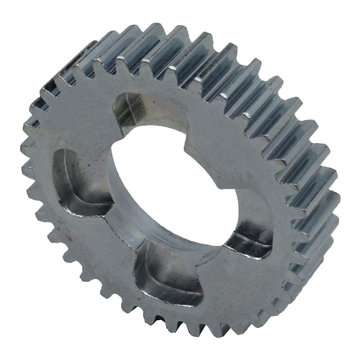 View larger image of 36 Tooth 20 DP 0.875 Round Bore Steel Dog Pattern Gear