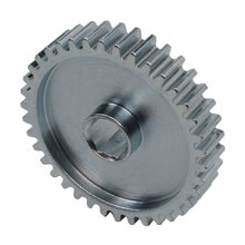 38 Tooth 20 DP 0.375 in. Hex Bore, Steel Gear