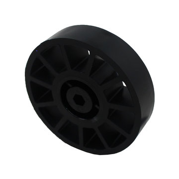 View larger image of 4 in. Compliant Wheel 3/8 in. Hex Bore 60A Durometer