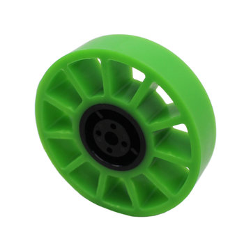 View larger image of 4 in. Compliant Wheel 8 mm Bore 35A Durometer