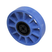4 in. Compliant Wheel, 8 mm Bore, 50A Durometer
