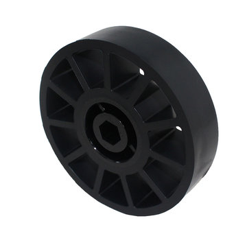 View larger image of 4 in. Compliant Wheel, 1/2 in. Hex Bore, 60A Durometer