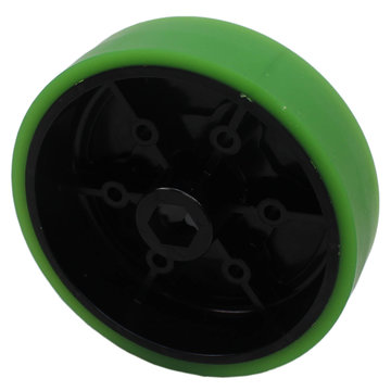 View larger image of 4 in. Stealth Wheel, 1/2 in. Hex Bore, 35A Durometer