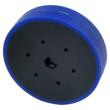 View larger image of 4 in. Stealth Wheel 1/2 in. Hex Bore 50A Durometer