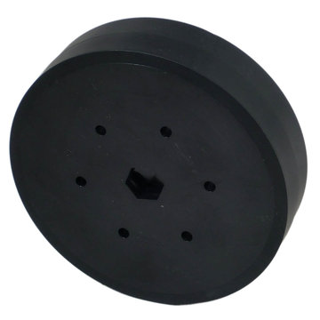 View larger image of 4 in. Stealth Wheel 1/2 in. Hex Bore 60A Durometer