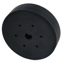 4 in. Stealth Wheel 1/2 in. Hex Bore 60A Durometer