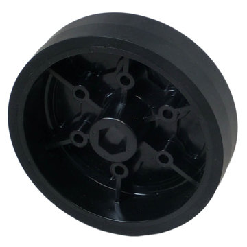 View larger image of 4 in. Stealth Wheel, 1/2 in. Hex Bore, 60A Durometer