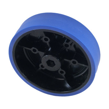 View larger image of 4 in. Stealth Wheel, 3/8 in. Hex Bore, 50A Durometer