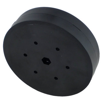 View larger image of 4 in. Stealth Wheel 3/8 in. Hex Bore 60A Durometer