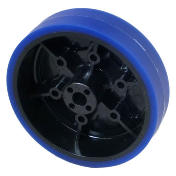 View larger image of 4 in. Stealth Wheel, 8mm Bore, 50A Durometer