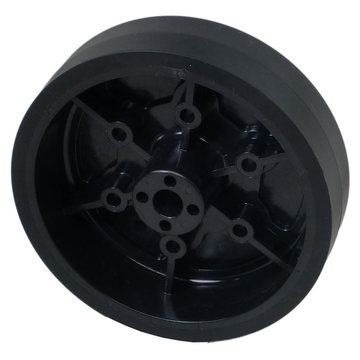 View larger image of 4 in. Stealth Wheel, 8 mm Bore, 60A Durometer