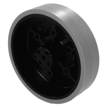 View larger image of 4 in. Stealth Wheel with 5 mm Hex Bore Gray 80 Durometer