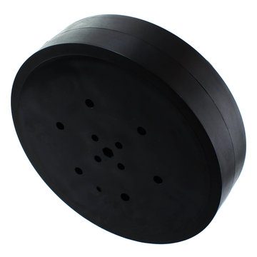 View larger image of 4 in. Stealth Wheel with 5mm Hex Bore, Black, 60 Durometer