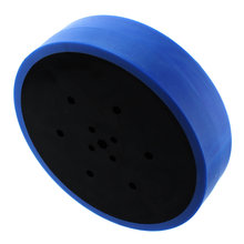 4 in. Stealth Wheel with 5 mm Hex Bore Blue 50 Durometer
