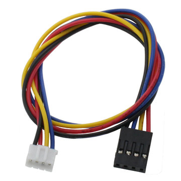 View larger image of JST-PHR-4 to 4-Pin 0.1 in. Female Adapter Cable