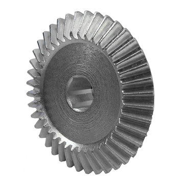 View larger image of 40 Tooth 1.25 Module 0.375 in. Hex Bore Steel Bevel Gear