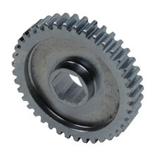 40 Tooth 20 DP 0.5 in. Hex Bore Steel Gear with Pocketing