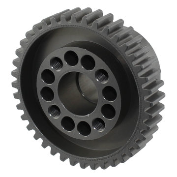 View larger image of 40 Tooth 20 DP 0.5 in. Round Bore Aluminum Bolt Circle Bearing Gear for Swerve & Steer