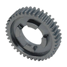 40 Tooth 20 DP 0.875 Round Bore Steel Dog Pattern Gear