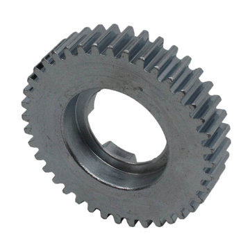 View larger image of 40 Tooth 20 DP 0.875 Round Bore Steel Dog Pattern Gear