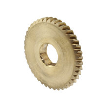 40 Tooth 25 PA 0.5 in. Hex Bore Bronze Driven Worm Gear for RAW box