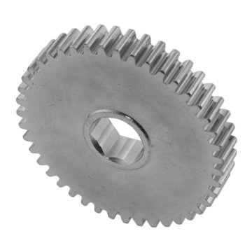 View larger image of 43 Tooth 20 DP 0.5 in. Hex Bore Steel Gear