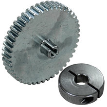 45 Tooth 32 DP 0.125 in. Round Bore Steel Pinion Gear with 6 mm Collar Clamp for NeveRest