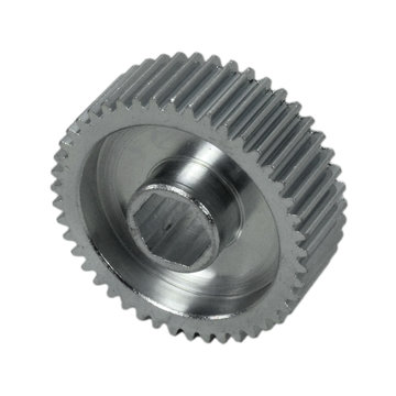 View larger image of 45 Tooth 32 DP 0.375 in. Hex Bore Steel Gear with Pocketing