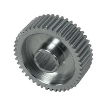 45 Tooth 32 DP 0.375 in. Hex Bore Steel Gear with Pocketing