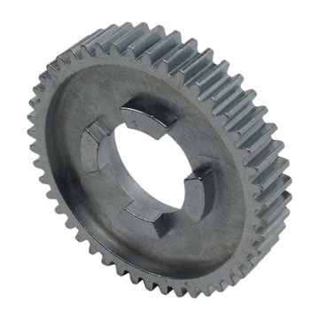 View larger image of 46 Tooth 20 DP 0.875 Round Bore Steel Dog Pattern Gear