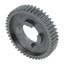 46 Tooth 20 DP 0.875 Round Bore Steel Dog Pattern Gear