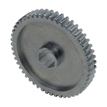 View larger image of 50 Tooth 20 DP 0.5 in. Hex Bore Steel Gear with Pocketing