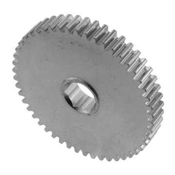 View larger image of 50 Tooth 20 DP 0.5 in. Hex Bore Steel Gear