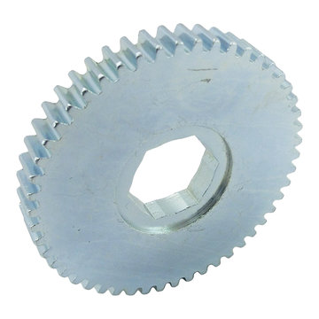 View larger image of 50 Tooth 20 DP 0.75 in. Hex Bore Steel Gear