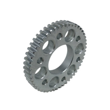 View larger image of 50 Tooth 20 DP 1.125 in. Round Bore Steel Bolt Circle Bearing Gear