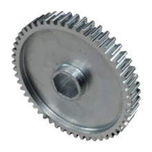 52 Tooth 20 DP 0.5 in. Hex Bore Steel Gear with Pocketing